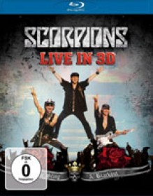 Scorpions is about to release a 3D blu-ray