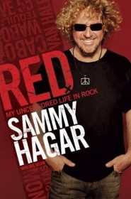 RED My uncensored life in rock SAMMY HAGAR front cover